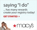 Best Deals Online at Macys Wedding Registry