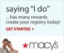 Best Deals Online at Macys Wedding Registry